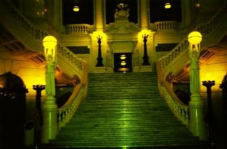 Pennsylvania State Capitol  - Harrisburg Pennsylvania  -  Grand Staircase