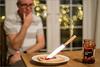 Magic Knife (mikeyp2000) Tags: selfie lenstagger magic levitation jam knife bread bokeh sandwich