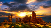 Garden of Eden (shchukin) Tags: landscape sunset nature nikond5200 shchukin sigma sunlight rocks sandstone archesnationalpark utah usa arches gardenofeden