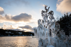 It's Kind of Cold (Aymeric Gouin) Tags: canada ontario tobermory brucepeninsula cold freeze gel winter hiver snow neige nature fujifilm xt2 travel voyage lake lakehuron huron lakeside water eau aymgo aymericgouin
