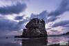 DSC_5041-2 (SDX_yyy) Tags: cloud izumo japan japaneas longexposure reflection rock sea sky sunset todaiji 稲佐の浜 purple beach wave winter