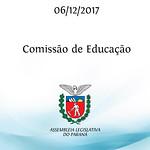 Reunião da Comissão de Educação 06/12/2017