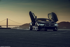 BMW I8 for Auto Vault Inc (Richard.Le) Tags: richard le automotive photography commercial flickr bmw i8 performance popular explore sony a7rii full frame sunset sunrise san francisco sf bay area hashtag tag golden gate bridge landscape natural lighting mpower profoto b1 west sacramento water ocean sky clouds