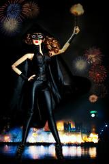 Remember, remember, the Fifth of November . . . (Kim ️) Tags: superdoll london sybarite vivir bonfire night guy fawkes fashion doll kimlondon sybdd0124