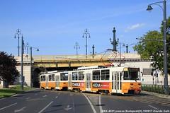BKK 4021 (Davuz95) Tags: tram budapest streetcar heritage line th dh bkk ganz caf hev