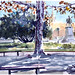 Montpellier - Promenade du Peyrou (cha.rline_m) Tags: montpellier cityscape landscape automn fall garden