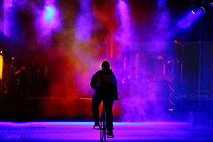 #GLOWING Glow Eindhoven 2017 (Elios.k) Tags: horizontal outdoors people oneperson man cyclist bicyclist bicycle ridingbicycle dutch tunnel light lightinstallation glowing silhouette dark night smoke colour color foruminterart halo dof depthoffield focusinforeground backgroundblur travel travelling november 2017 glowfestival lightfestival lightart exhibition gloweindhoven2017 gloweindhoven glow2017 canon 5dmkii photography eindhoven noordbrabant northbrabant netherlands nederland europe