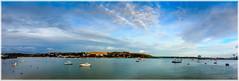 Falmouth Harbour (juanmartinez81) Tags: falmouth harbour sea coast coastline coastal coastaltown fal river landscape boats nautical cornwall kernow pano panorama
