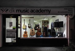 Day 324/365 2017-11-20 Music lesson (Kirsten Osa) Tags: godalming england unitedkingdom gb guitars musicacademy