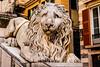 Sad Lion (spaetzle) Tags: genoa italianriviera fujifilmxt1 fuji sculpture lion