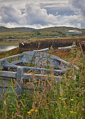 All washed up.. (Harleynik Rides Again.) Tags: oldwoodenboat scotland highlands applecross wreck harbour harleynikridesagain