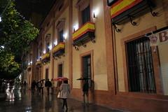 XE3F6227 (Enrique Romero G) Tags: puerta jerez sevilla lluvia rain noche nocturna night spain fujixe3 fujinon18f2