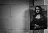 Not the Louvre (Russ Kerlin Photography) Tags: monochrome bw monalisa bookstore