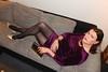 Velvet Vixen (Rikky_Satin) Tags: velvet dress crossdresser tgirl tgurl gurl mini