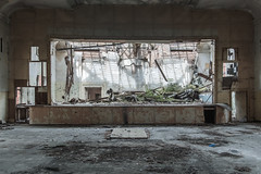 (bananahh) Tags: urbex abandoned military decay derelict theater
