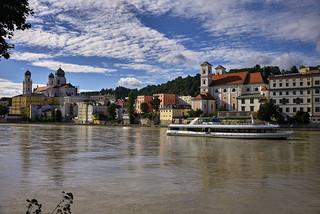 Sommerhimmel über Passau