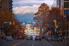 The Streets of Vancouver 🚃🏢 (Michael Thornquist) Tags: snowcouver burrardstreet northvancouver northvan coalharbour vancouverharbour mtseymour lonsdale lowerlonsdale lonsdalequay mountains snowcappedmountains vancouver myportcity 604now photos604 explorebc explorecanada canoncanada ilovebc britishcolumbia pacificnorthwest pnw canada 500px