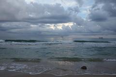 Fort Lauderdale, Florida (Team Kweeper) Tags: ocean beach waves clouds storm weather sky scenery landscape sand sea coast shoreline atlanticocean florida