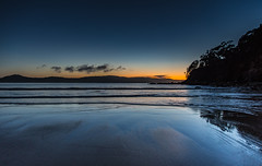 Daybreak Seascape (Merrillie) Tags: daybreak uminabeach landscape nature australia mountains nswcentralcoast newsouthwales clouds nsw uminapoint beach scenery centralcoastnsw coastal waterscape centralcoast seascape sunrise coast water sea