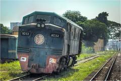 Favourite Loco (Trains In Tasmania) Tags: bangladesh dhaka bangladeshrailway diesellocomotive train gmb12 gm emd ontariogmdplantcanada class2000 trainsintasmania stevebromley canoneos550d ef35350mm13556lusm