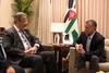 جلالة الملك عبدالله الثاني يلتقي وزير الدفاع البرازيلي راؤول جونغمان (Royal Hashemite Court) Tags: kingabdullahii جلالة الملك عبدالله الثاني jordan الأردن brazil البرازيل