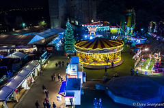 Rochester Castle Xmas Market (daveseargeant) Tags: rochester castle medway leica x typ 113 fairground lights