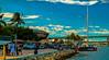 One afternoon at the edge of the bay. (Aglez the city guy ☺) Tags: miamicity downtownmiami miamifl urbanexploration unitedstates bayfront bay blue seashore sailboat people park waterways walking walkingaround outdoors