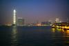 2017 (ian.latte) Tags: 2017 countdown victoria harbour kowloon hongkong sea waterfront lighting decorative skyscraper building pier lookout lowlight handheld outdoor 28mm leicam leica urban city haze
