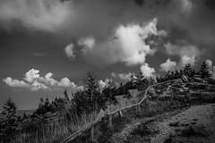 ein Tag auf dem Brocken (Teil 1) (matthias-fotografien) Tags: brocken harz monochrome wolken clouds