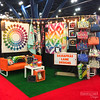Quilt Market 2017 - The Booths (Sassafras Lane Designs) Tags: quilt market sassafras lane tradeshow booth rainbow colorful display