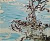 Untitled (2001) - João Queiroz (1957) (pedrosimoes7) Tags: joãoqueiroz centrodeartemanueldebrito camb paláciodosanjos algés portugal museu musée museum water eau água pássaro landscape paisagem bird artgalleryandmuseums artdigital