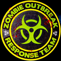Zombie Outbreak Response Team (Timothy Valentine) Tags: decal home 2017 squaredcircle 1117 eastbridgewater massachusetts unitedstates us