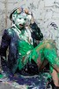 Linda is pied and slimed (Wet and Messy Photography) Tags: pie pieintheface gettingpied messy messyhair wetandmessy business linda slime slimed