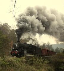 Up shot (feroequineologist) Tags: 44806 black5 nymr northyorkshiremoorsrailway lms railway train steam