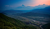 View at Annapurna mountain range from Sarangkot view point near Pokhara in Nepal (CamelKW) Tags: 2016 everestpanorama nepal annapurna mountain sarangkot viewpoint pokhara