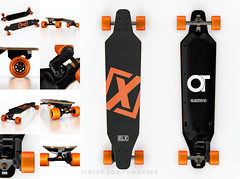 collage (omardex) Tags: photoshop electric product mockup otoy octanerender c4d skateboard skate board