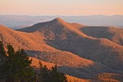 The Rumpled Blanket Look (esywlkr) Tags: sunset light mountains landscape bep nc wnc blueridgeparkway northcarolina nationalforest pisgah