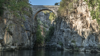 SELGE (Sirk) Pisidia, Antalya/ Turkey. Eurymedon Bridge (Selge)