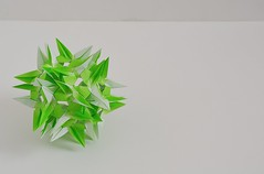 Cilicia Kusudama (Byriah Loper) (Byriah Loper) Tags: origami modularorigami modular byriahloper byriah paperfolding paper polygon polyhedron compound complex