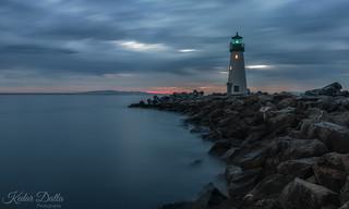 Cloudy Lighthouse