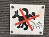 doggy don't (Observe The Banana) Tags: helsinki finland streetart graffiti sticker 1248 dog pee