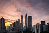 Sunrise over Kuala Lumpur (Md Farhan's Gallery) Tags: kualalumpur malaysia lensamalaya nationalgeographic sunrise morning cloud dramatic sky skyview skyscraper building urbanscape urban city cityscape klcc asia fujifilm fujinon xf1024mm xt1
