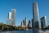 171029 Tianjin-22.jpg (Bruce Batten) Tags: vehicles plants subjects transportationinfrastructure buildings boats businessresearchtrips china trees locations trips occasions rivers urbanscenery tianjin people shadows reflections bridges tianjinshi cn