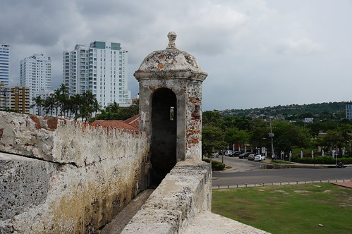 "Part of the 11 Kilometers of Defensive Walls that Protect Old Town Cartagena. • <a style=""font-size:0.8em;"" href=""http://www.flickr.com/photos/28558260@N04/38100169454/"" target=""_blank"">View on Flickr</a>"