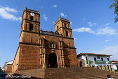Barichara church, Colombia (Sekitar - thank you for 20 Million views) Tags: colombia southamerica south america amerika latin barichara church église iglesia historic