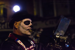 Dragon of Shandon Parade 2017 - The Trumpeter (Mark Photography 2017) Tags: acessory all allhallows artificial arts background black blurred body bokeh brass bulb bw candid carnival city close closeup clothing composition crafts day days desaturating detail effect eve event exterior face freeze front halloween hat headwear holidays horizontal humanbeing instrumentalist instruments life lighting lights live mask motion musical musician nightlight nighttime outdoor painting performance photography photojournalism play portrait public reportage saints seasonal shot show stage street travel treat treatment trick trumpet urban white windobjectlightingnightlighttimedaynighttimenightartscraftsphotographytreatmentimagetypedesaturatingblackwhitebamdwbwcitylightssettingexterioroutdoorphotogenrestyleurbantravelstageshowplaysetliveperformanceportraitphoto