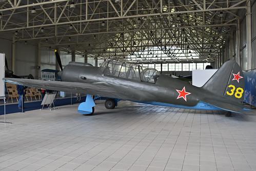 Mock-up Sukhoi Su-2 '38 yellow'