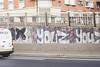 Youz (lanciendugaz) Tags: graffiti graff paris spray spraycan autoroute a4 vandalisme vandal chrome couleur lettrage roulo hauteur block crew tags tag taggeurs graffeurs negatif spot
