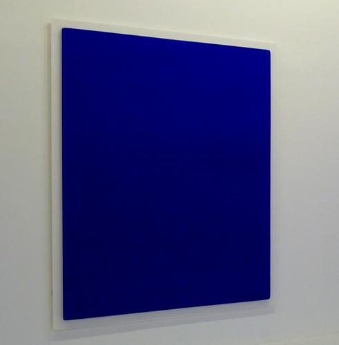 Yves Klein Blue at Centre Pompidou, Paris, France