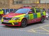 EK14NXR / HO3 Skoda Octavia Estate of the London Air Ambulance Advanced Trauma Team (Ian Press Photography) Tags: 999 emergency service services ambulance nhs london las hospital whitechapel car cars estate ek14nxr ho3 skoda octavia air advanced trauma team
